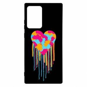 Etui na Samsung Note 20 Ultra Kolorowe serce