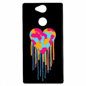 Etui na Sony Xperia XA2 Kolorowe serce
