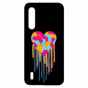 Etui na Xiaomi Mi9 Lite Kolorowe serce