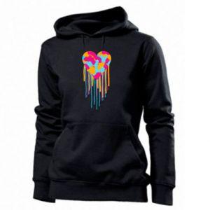 Bluza damska Kolorowe serce