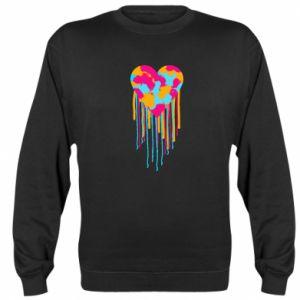 Bluza Kolorowe serce