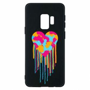 Etui na Samsung S9 Kolorowe serce