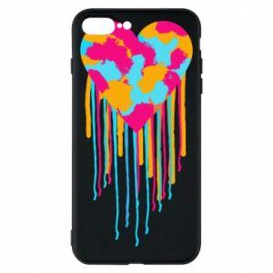 Etui na iPhone 8 Plus Kolorowe serce
