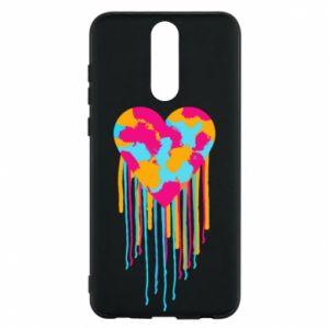 Etui na Huawei Mate 10 Lite Kolorowe serce