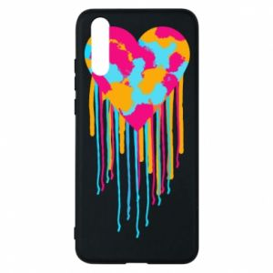 Etui na Huawei P20 Kolorowe serce