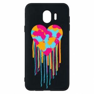 Etui na Samsung J4 Kolorowe serce