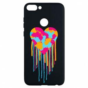 Huawei P Smart Case Colored heart