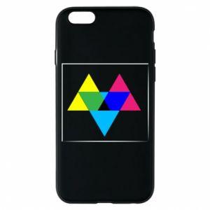 Etui na iPhone 6/6S Kolorowe trójkąty