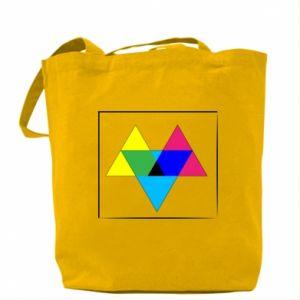 Torba Kolorowe trójkąty
