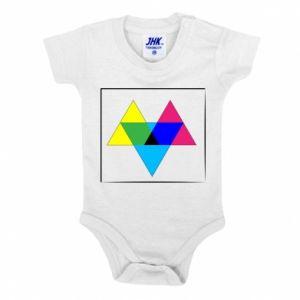 Body dla dzieci Kolorowe trójkąty