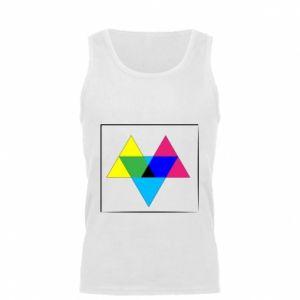 Męska koszulka Kolorowe trójkąty
