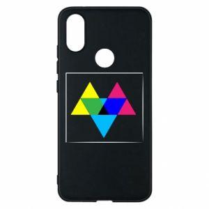 Etui na Xiaomi Mi A2 Kolorowe trójkąty