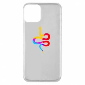 iPhone 11 Case Colored snake