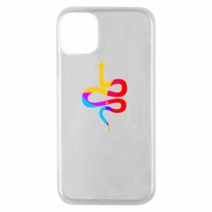Etui na iPhone 11 Pro Kolorowy wąż
