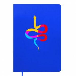 Notes Kolorowy wąż