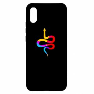 Etui na Xiaomi Redmi 9a Kolorowy wąż