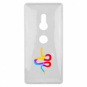 Etui na Sony Xperia XZ2 Kolorowy wąż