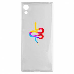 Etui na Sony Xperia XA1 Kolorowy wąż