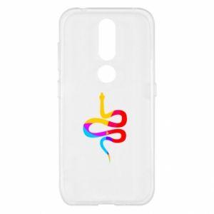 Etui na Nokia 4.2 Kolorowy wąż