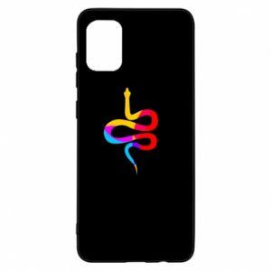 Etui na Samsung A31 Kolorowy wąż