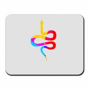 Podkładka pod mysz Kolorowy wąż