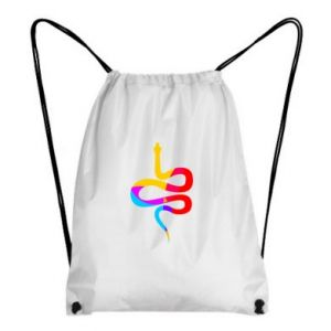 Plecak-worek Kolorowy wąż