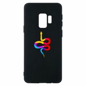 Etui na Samsung S9 Kolorowy wąż