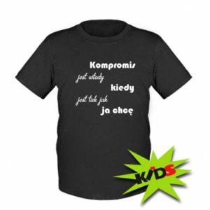 Dziecięcy T-shirt Kompromis