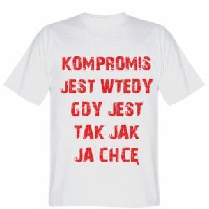T-shirt Compromising... - PrintSalon