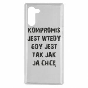 Etui na Samsung Note 10 Kompromis...