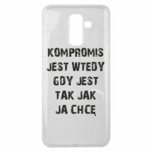 Etui na Samsung J8 2018 Kompromis...