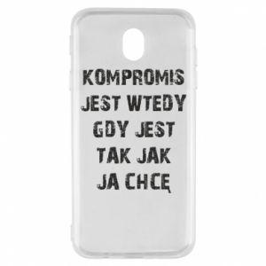 Etui na Samsung J7 2017 Kompromis...