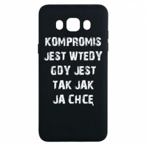Etui na Samsung J7 2016 Kompromis...