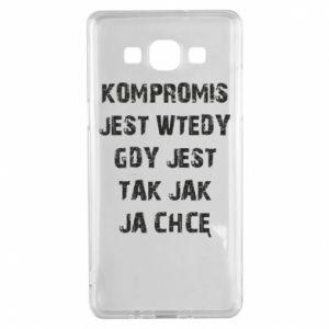 Etui na Samsung A5 2015 Kompromis...