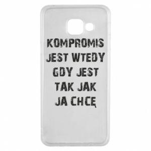 Etui na Samsung A3 2016 Kompromis...