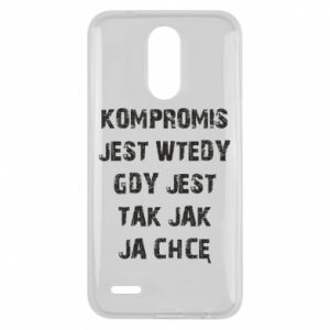 Etui na Lg K10 2017 Kompromis...