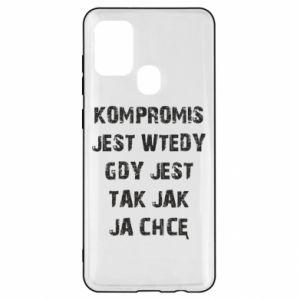 Etui na Samsung A21s Kompromis...