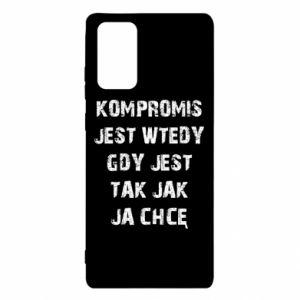 Etui na Samsung Note 20 Kompromis...