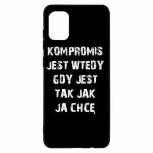 Etui na Samsung A31 Kompromis...