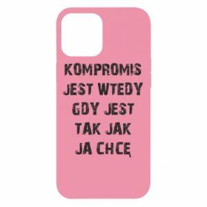 Etui na iPhone 12 Pro Max Kompromis...