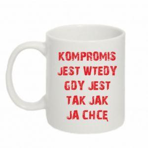 Mug 330ml Compromising...