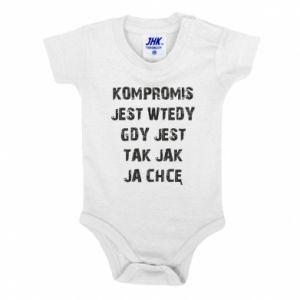 Baby bodysuit Compromising... - PrintSalon