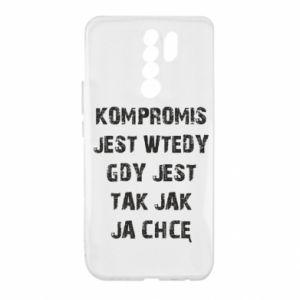 Etui na Xiaomi Redmi 9 Kompromis...