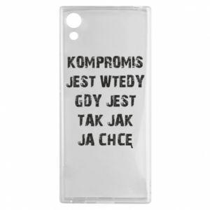 Etui na Sony Xperia XA1 Kompromis...