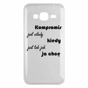 Etui na Samsung J3 2016 Kompromis