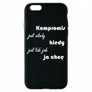 Etui na iPhone 6/6S Kompromis
