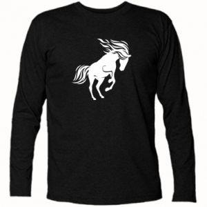 Koszulka z długim rękawem Koń - Printsalon