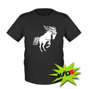 Dziecięcy t-shirt Koń - Printsalon