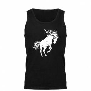Męska koszulka Koń - Printsalon