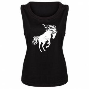 Damska koszulka Koń - Printsalon
